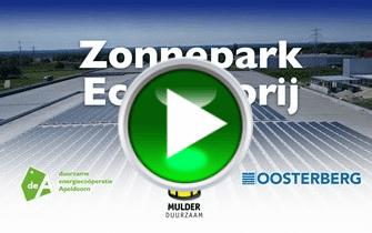 Een jaar Zonnepark Ecofactorij
